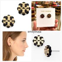 Tory Burch★Logo Flower Resin Stud Earring*可愛いピアス