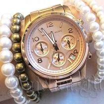 ★在庫・追跡便★Michael Kors Rose Gold Runway Watch MK5128