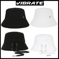 VIBRATE(バイブレート) ハット 韓国の人気★VIBRATE★STRING POINT BUCKET HAT  2色★