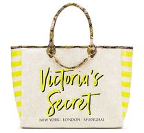 ☆Victoria's Secret☆Angel City トートバッグ - Yellow/Python