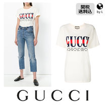 【関税送料込】 GUCCI  Gucci cities print oversize T-shirt