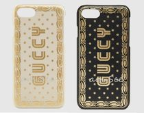 【GUCCI】GUCCY プリント  iPhone7 & 8 カバーケース 2色