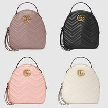 グッチ☆GG Marmont quilted leather backpack