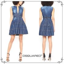 国内発送・関税込D SQUARED2  DENIM MINI  DRESS