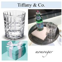 [Tiffany&Co.]未入荷 Plaid Double Old-Fashioned Glass☆10oz