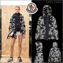 MONCLER 18SS MORION 花柄パーカ ブラック ☆正規店購入☆
