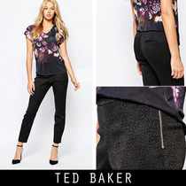 ★TED BAKER【正規/追跡】Shilat豹柄ジャカード織スーツ用ズボン