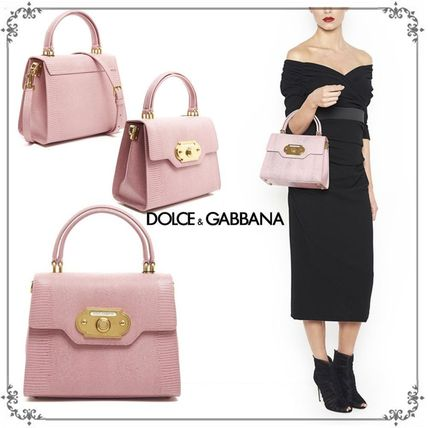 国内発送・関税込DOLCE & GABBANA  WELCOME HAND BAG