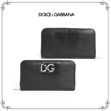 国内発送・関税込DOLCE & GABBANA  ZIPS-AROUND WALLET