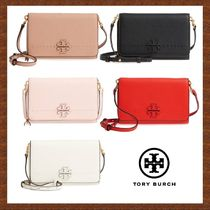 セール★TORY BURCH★MCGRAW FLAT WALLET CROSS BODY