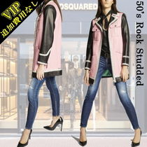 """◆◆VIP◆◆ D SQUARED2   """"50's Rock Studded """" レザー コート"""