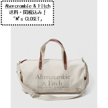Abercrombie&Fitch(アバクロ)ロゴ入りバッグ