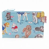 CathKidston ポーチ  642262 ZIP PURSE Dusty Blue
