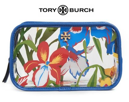 Tory Burch メイクポーチ 【国内発送】☆Tory Burch  クリア化粧品ケース