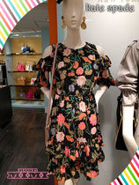 フラワーワンピース!kate spade☆blossom cold shoulder dress