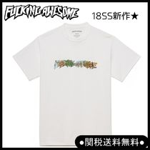 Fucking Awesome(ファッキング オウサム) Tシャツ・カットソー New 18ss☆Fucking Awesome ロゴBATTLEFIELDTシャツ