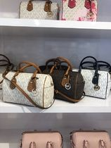 【即発◆3-5日着】Michael Kors◆LOGO ARIA MD SATCHEL◆2ways