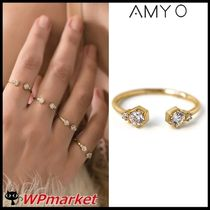 ★AMY O GOLD QUAD DELICATE 指輪【関税送料込】