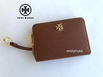 即発 TORY BURCH★EMERSON ZIP COIN CASE キーリング付き 47391
