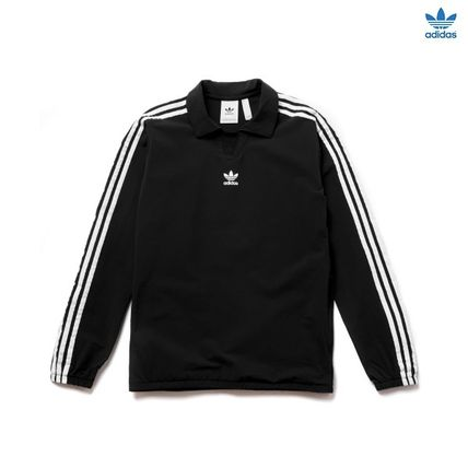 ADIDAS(アディダス)WARM-UP TOP BLACK