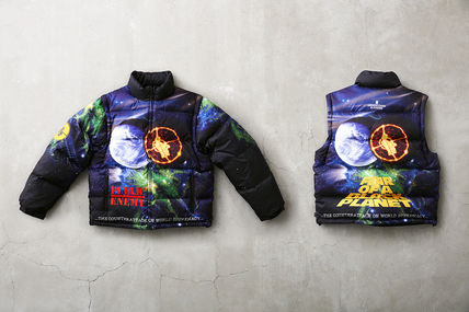 W4 SS18【Supreme/UNDERCOVER/Public Enemy 】Puffy Jacket