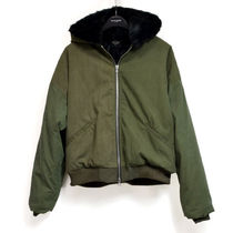 【Fear of God】VINTAGE MILITARY FAUX RABBIT HOODIE