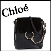 関税送料込み☆Chloe  FAYE ☆ SMALL BACKPACK