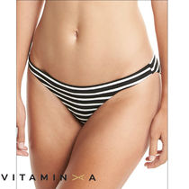 Vitamin A ビタミンA Luciana Striped Hipster ビキニ・ボトム