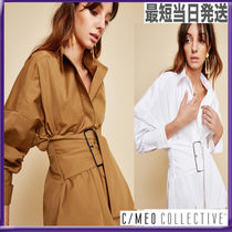 CAMEO COLLECTIVE(カメオコレクティブ) ブラウス・シャツ 【最短当日発送】☆カメオコレクティブ☆ウエストベルトシャツ