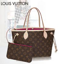 Louis Vuitton マザーズバッグ NEVERFULL PM モノグラム ポーチ