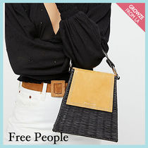 【Free People】ミニトートかごバッグ Wicker Wings Tixing Tote