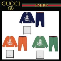 18SS☆GUCCI★出産祝いに☆アニマル柄セットアップギフトセット