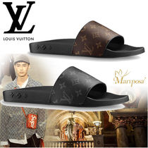 18SS 【新作】 ルイヴィトン WATERFRONT MULE ☆サンダル☆2色☆