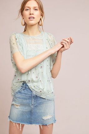 Anthropologie☆Rochelle Lace Blouse