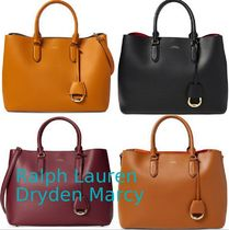 SALE★RALPH LAUREN★4色♪Leather Marcy Satchel