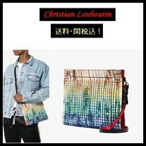 【Christian Louboutin】Multicoloured Skypouch レザーバッグ