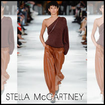 Stella McCartney☆One shoulder-crochet ニット/ランウェイ