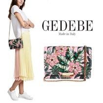 GEDEBE(ゲデべ) ハンドバッグ 【送料関税込】GEDEBE(ゲデべ) Clicky Palms Bag