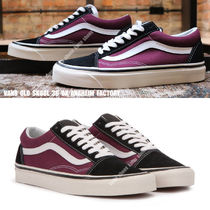 VANS★OLD SKOOL 36 DX★ANAHEIM FACTORY★黒×バーガンディ