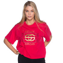 [STUSSY]♥スタンダードFITのTee [2色あり Red or White]