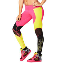 ☆ZUMBA・ズンバ☆A Little Meshed Up Perfect Long Leggings