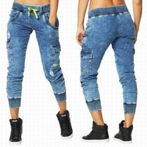 ☆ZUMBA・ズンバ☆Get Faded Denim Dance Pants