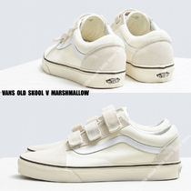 VANS★OLD SKOOL V★ベルクロ★25.5~29cm★MARSHMALLOW
