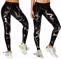 ☆ZUMBA/ズンバ:Great Getaway Metallic Perfect Ankle Leggings