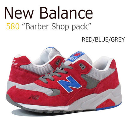 New Balance 580 RED GRY MT580BSR ニューバランス