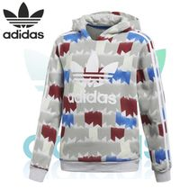 18SS adida★GRPHC HOODED SWEATER ロゴパーカー 大人もOK!