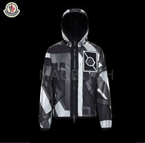 18SS MONCLER C CEVA モノトーンPRINTブルゾン MILAN本店買付