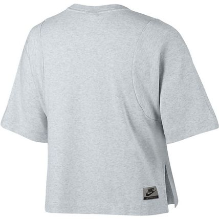 Nike Tシャツ・カットソー NIKE 853563-051 WMNS INTERNATIONAL S/S TOP BIRCH HEATHER(2)