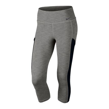 Nike ボトムスその他 NIKE 823080-063 WMNS BASE LINE CAPRI PANTS DARK GRAY HEATHER
