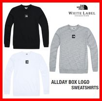 人気★ [THE NORTH FACE]  ★ALLDAY BOX LOGO SWEATSHIRTS★3色